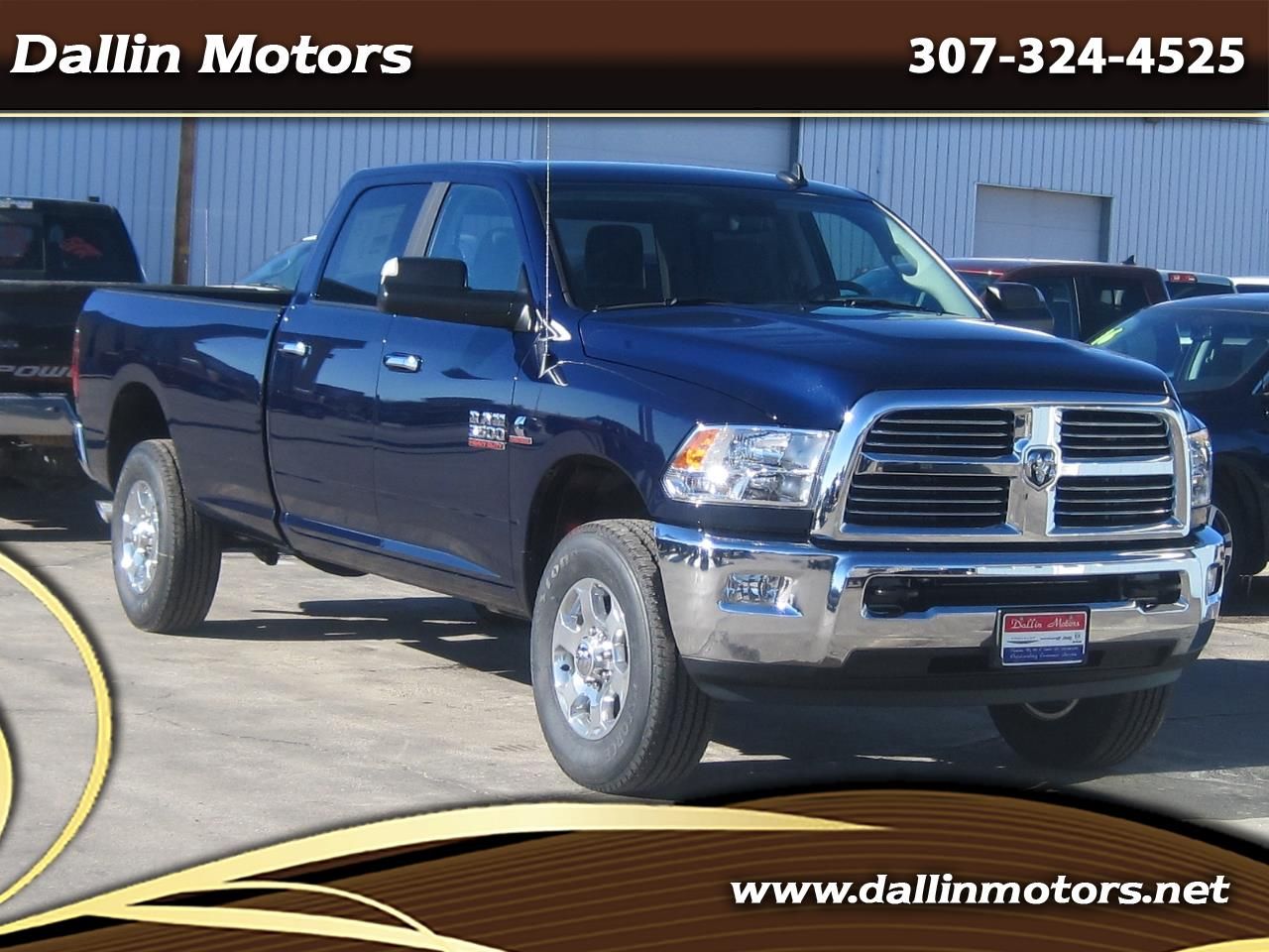 2018 RAM 3500 Big Horn 4x4 Crew Cab 8' Box