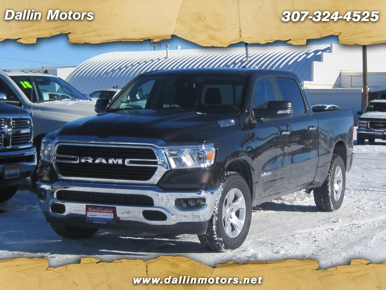 "2019 RAM 1500 Big Horn/Lone Star 4x4 Crew Cab 6'4"" Box"
