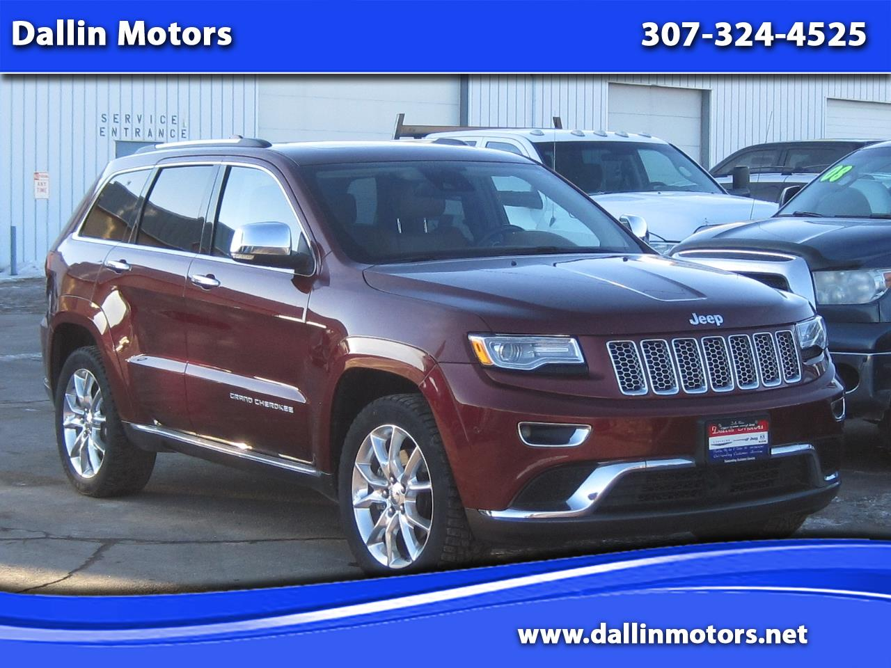 2016 Jeep Grand Cherokee 4WD 4dr Summit
