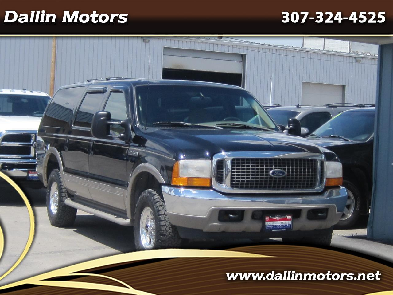"""2000 Ford Excursion 137"""" WB Limited 4WD"""