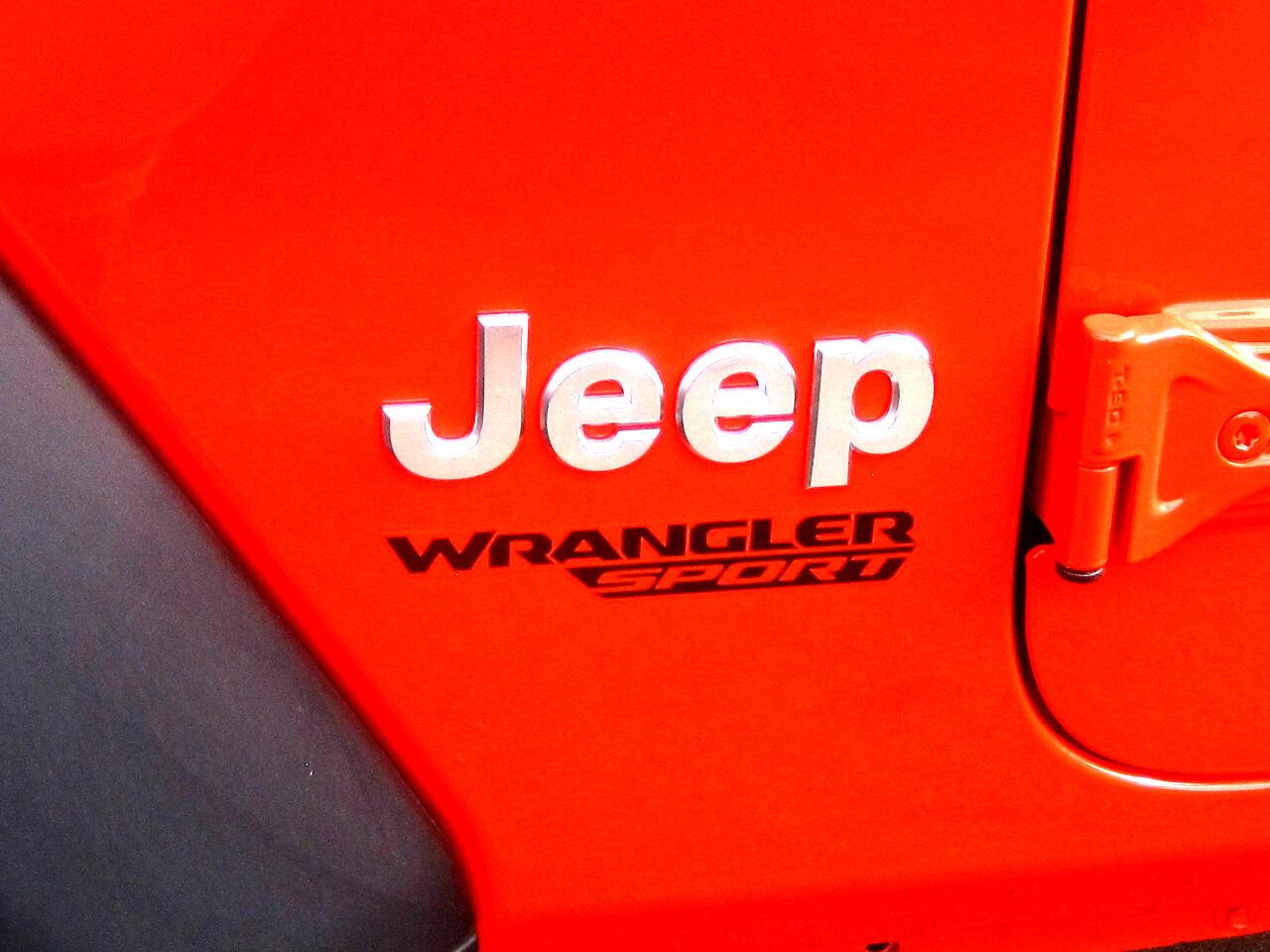 2019 Jeep Wrangler Sport S 4x4