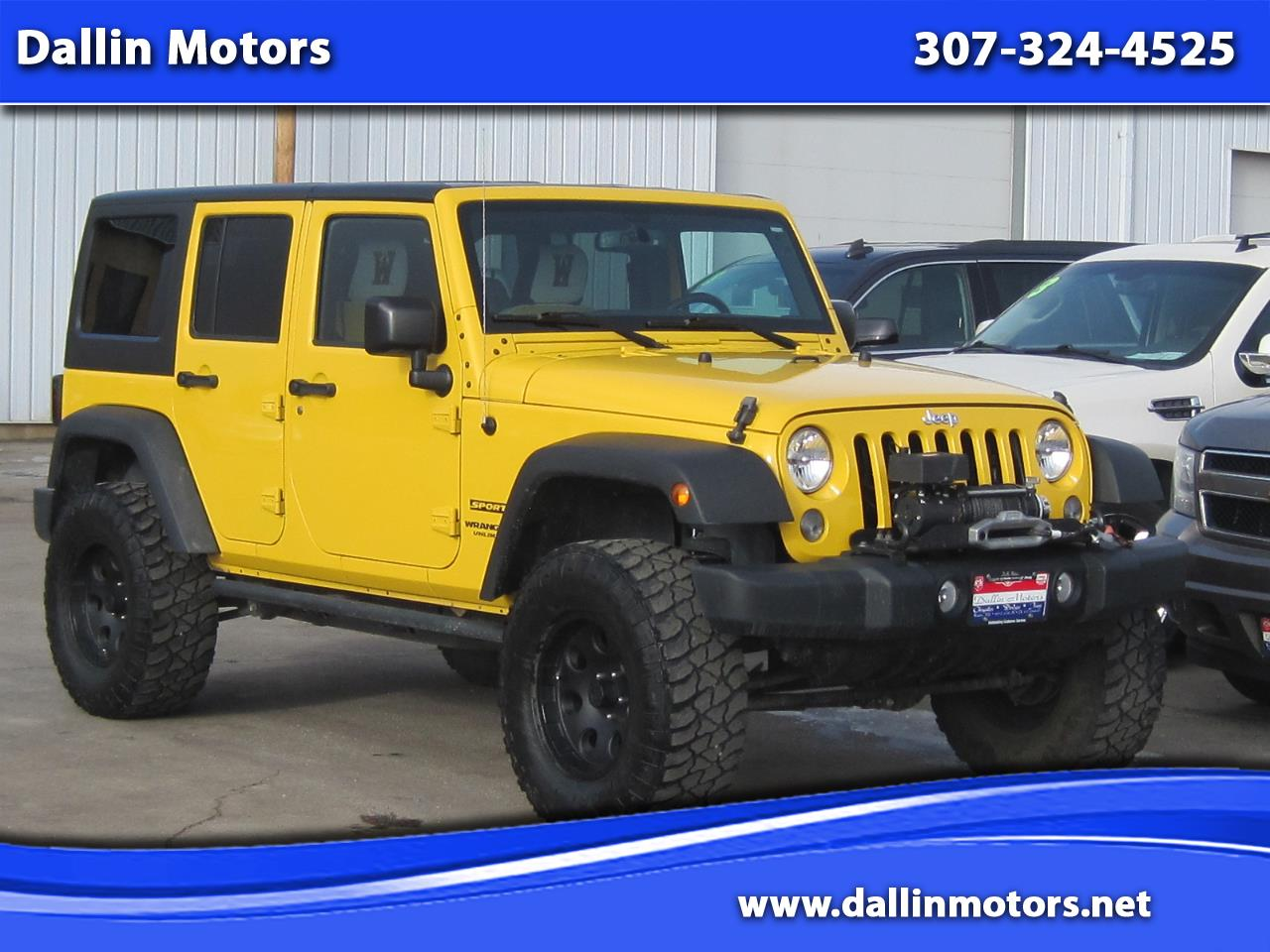 2015 Jeep Wrangler Unlimited 4WD 4dr Sport