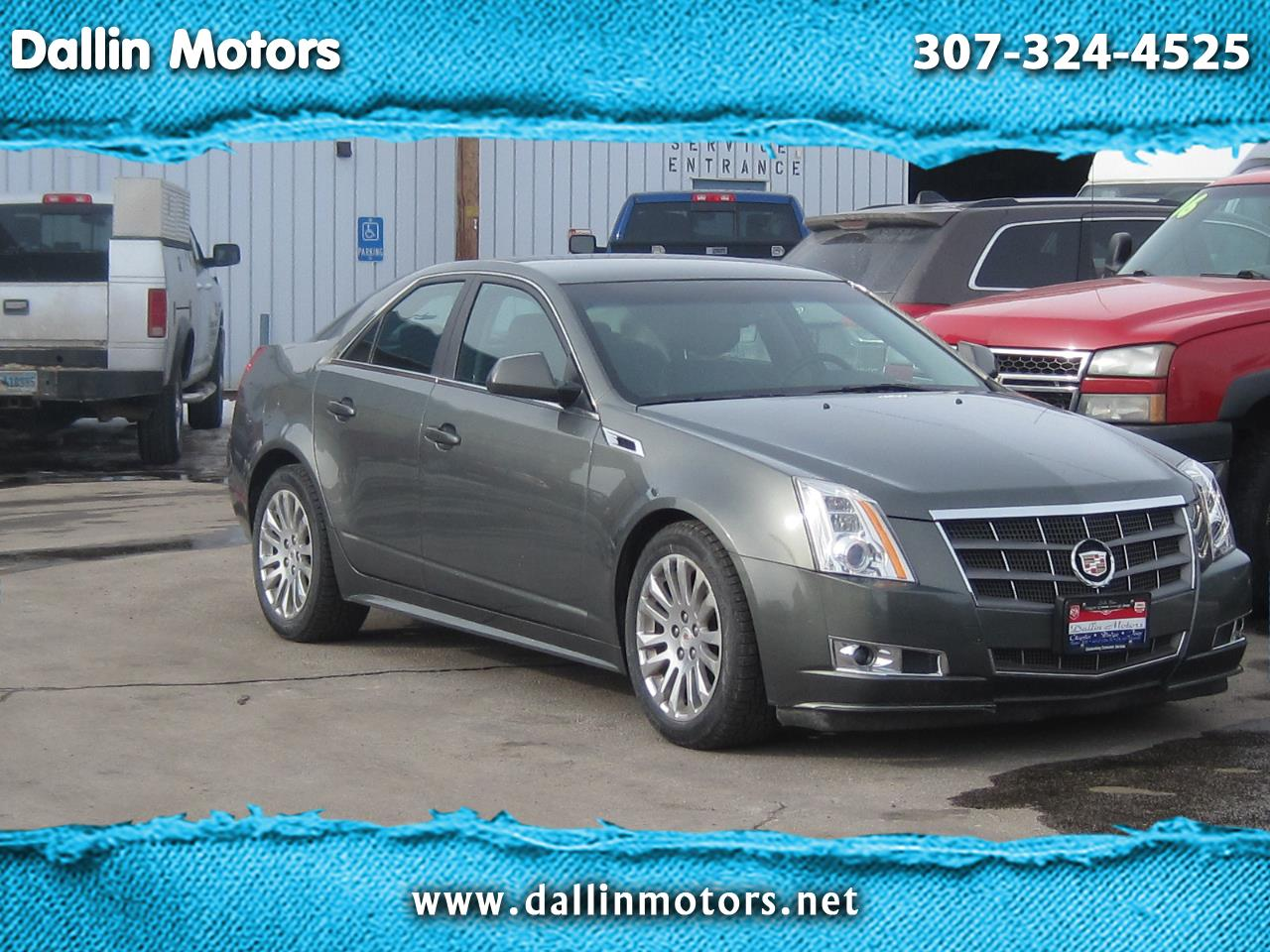Cadillac CTS Sedan 4dr Sdn 3.0L Performance RWD 2011