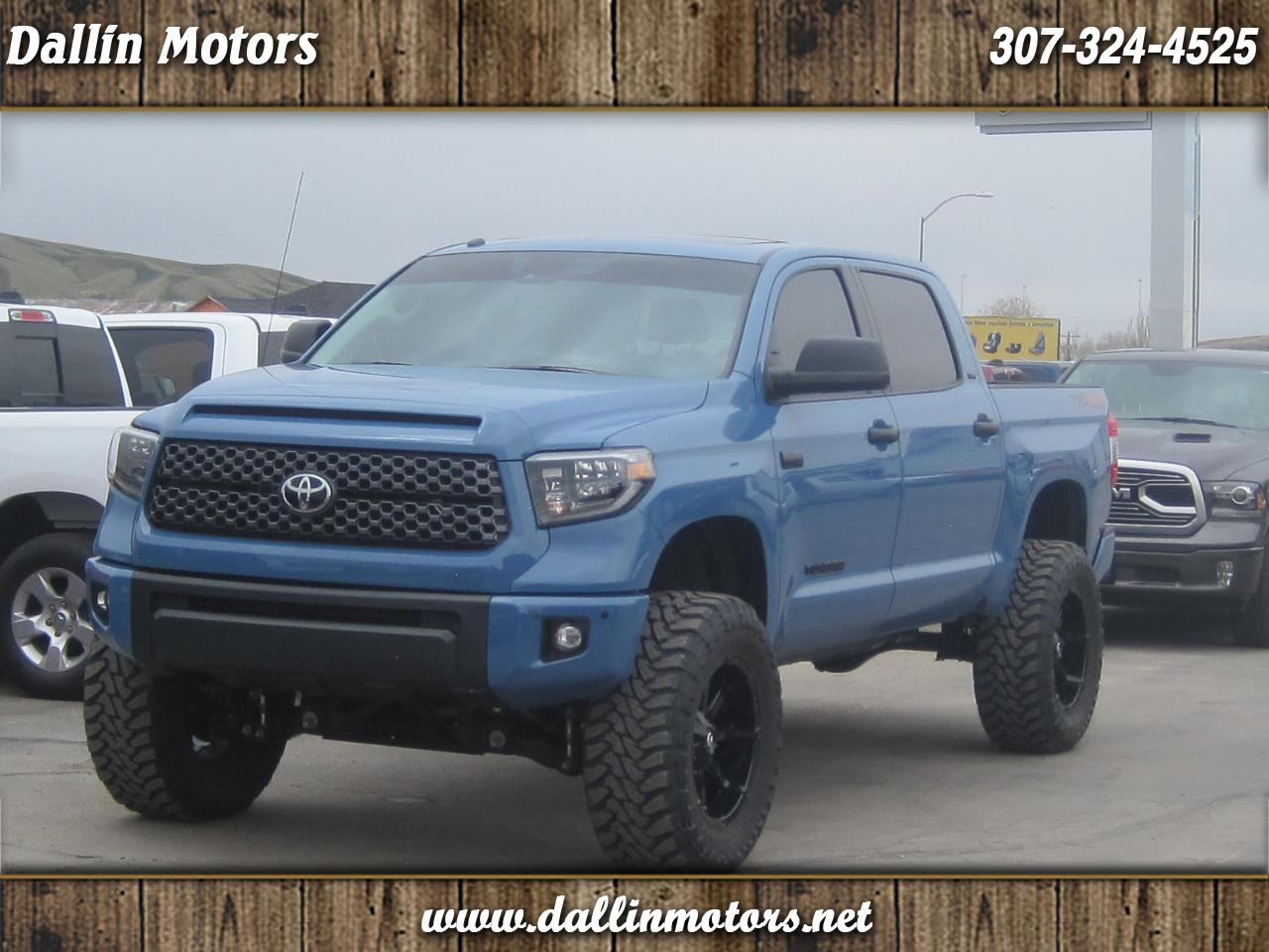 Toyota Tundra 4WD 1794 Edition CrewMax 5.5' Bed 5.7L (Natl) 2019