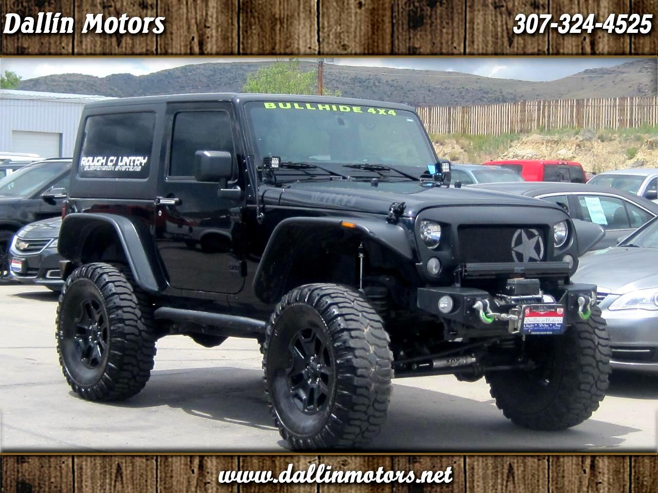 Jeep Wrangler 4WD 2dr Willys Wheeler 2016