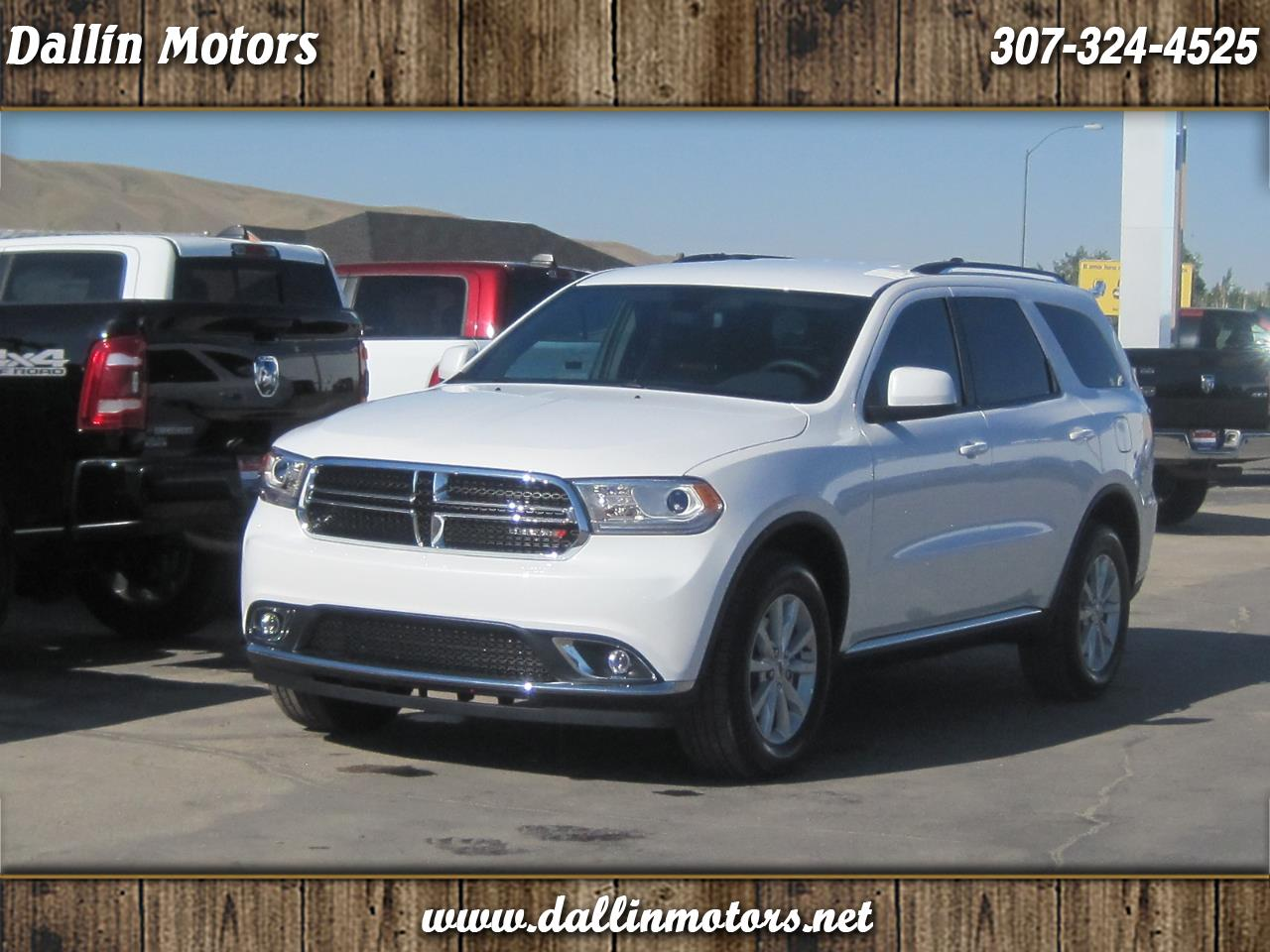 Dodge Durango SXT Plus AWD 2020