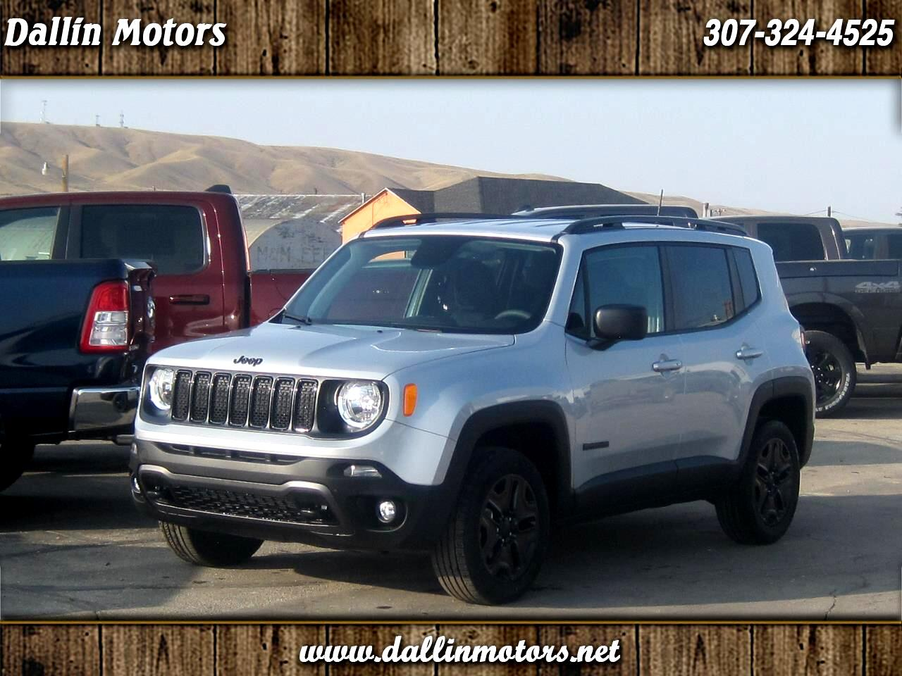 Jeep Renegade 4WD 4dr Sport 2020