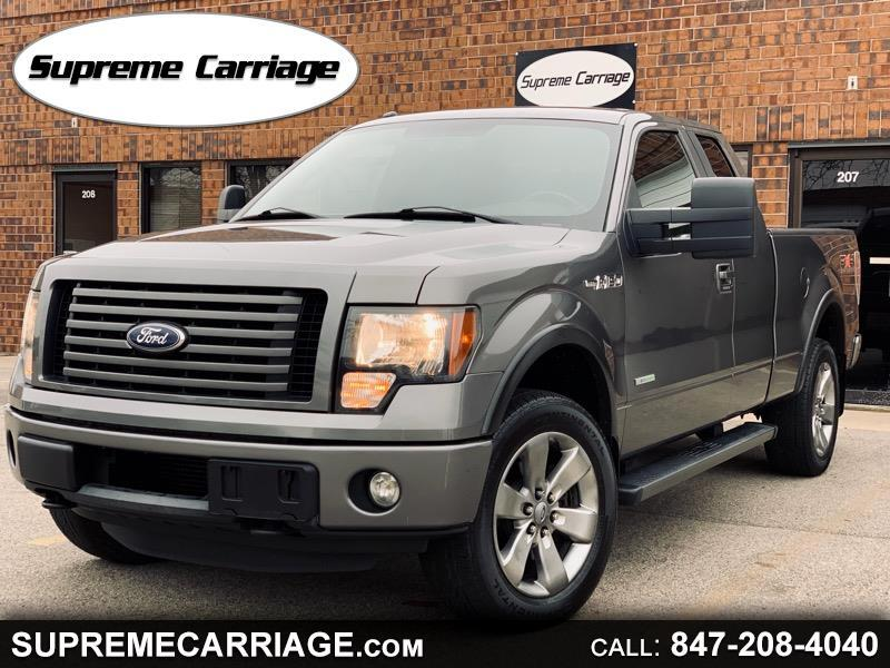 Ford F-150 FX4 SuperCab 5.5-ft. Bed 4WD 2011