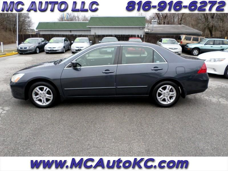Honda Accord SE Sedan 2007