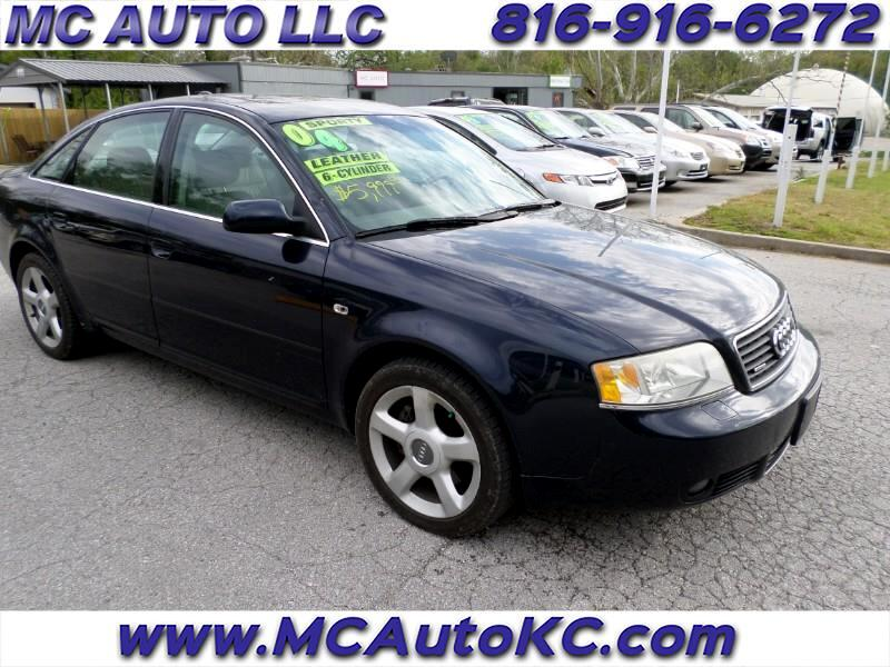 Audi A6 3.0 with Tiptronic 2004