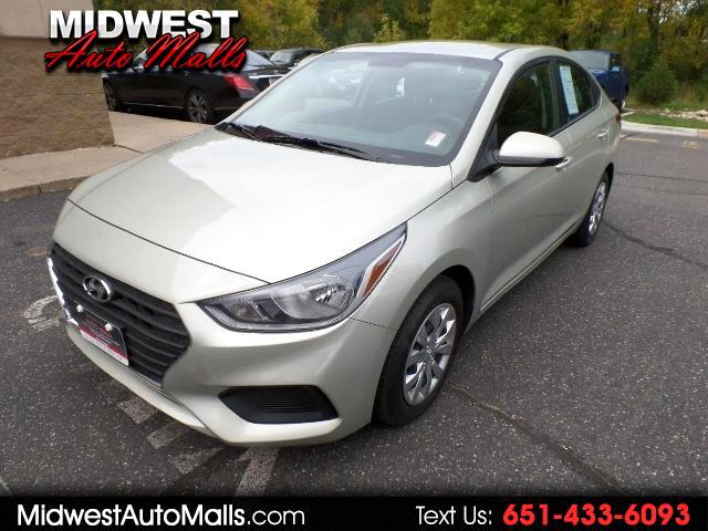 2018 Hyundai Accent SEL 4-Door 6A