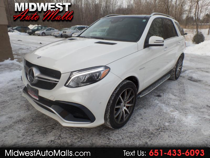 2017 Mercedes-Benz GLE Class AMG GLE63 4MATIC