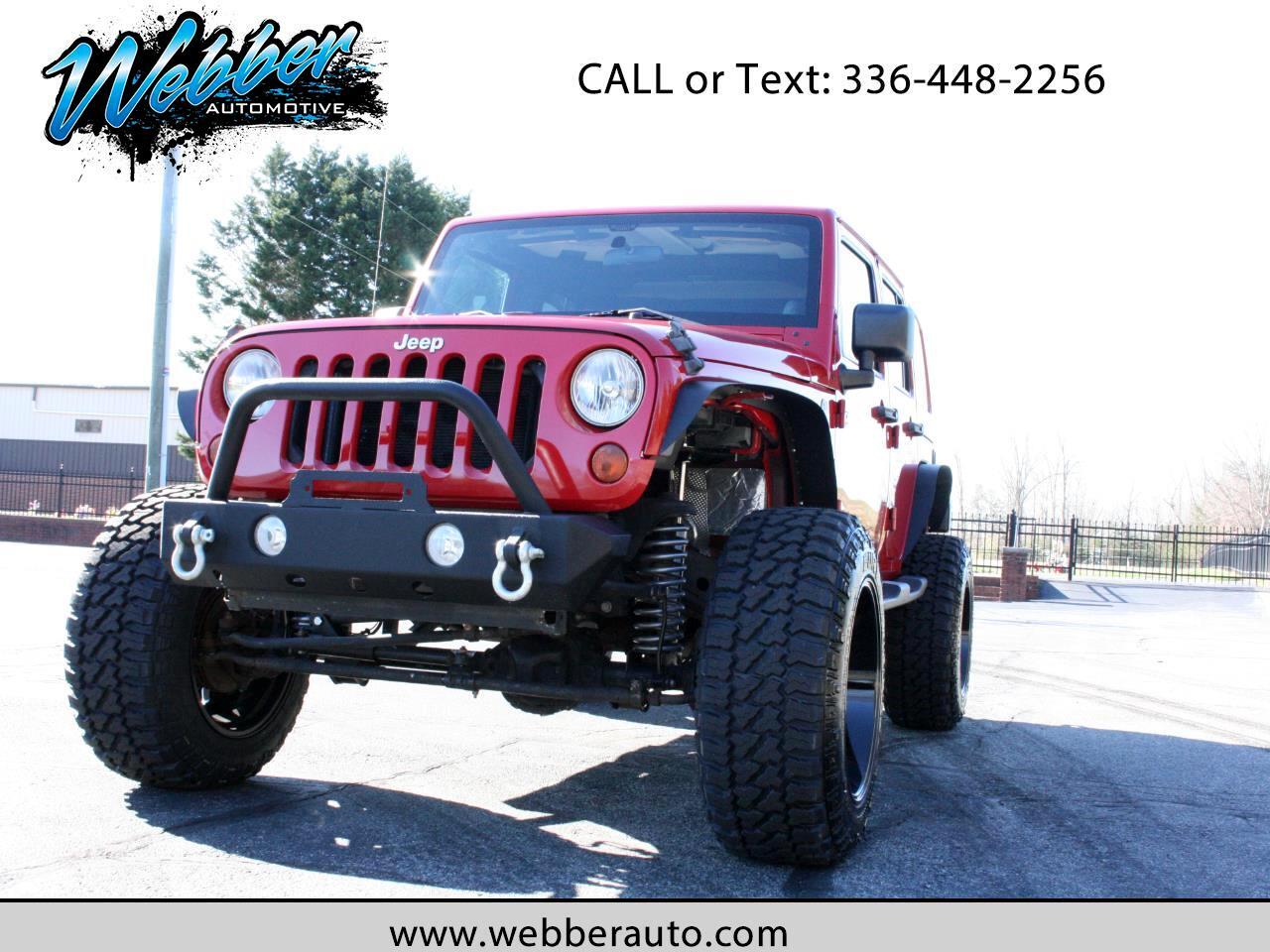 2011 Jeep Wrangler Unlimited Sahara 4WD