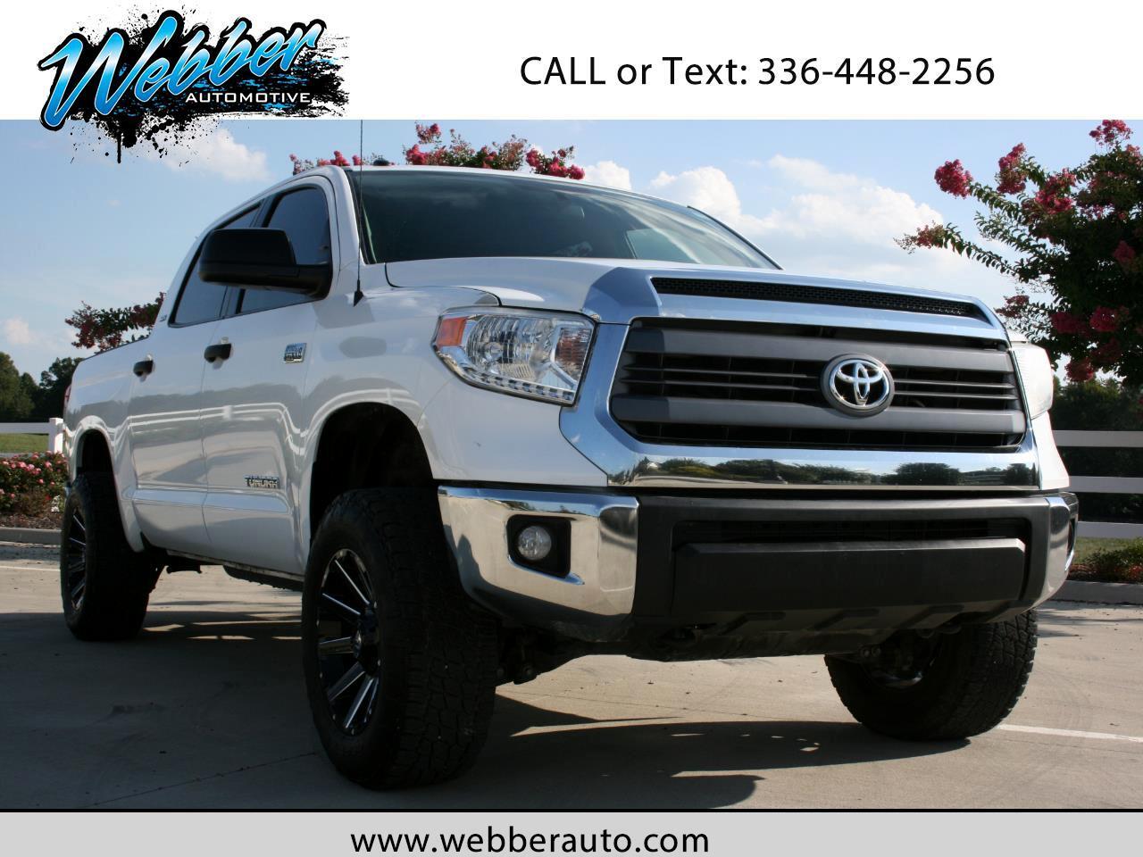 2014 Toyota Tundra SR5 5.7L V8 FFV CrewMax 4WD