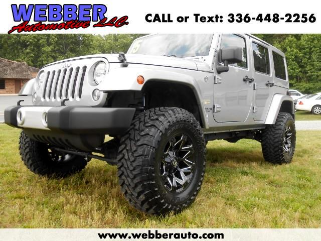 2015 Jeep Wrangler 4WD 4dr Unlimited Sahara