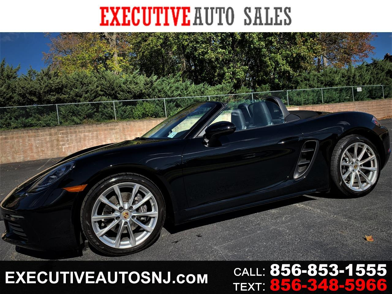 Porsche Boxster 2dr Roadster Manual 2017