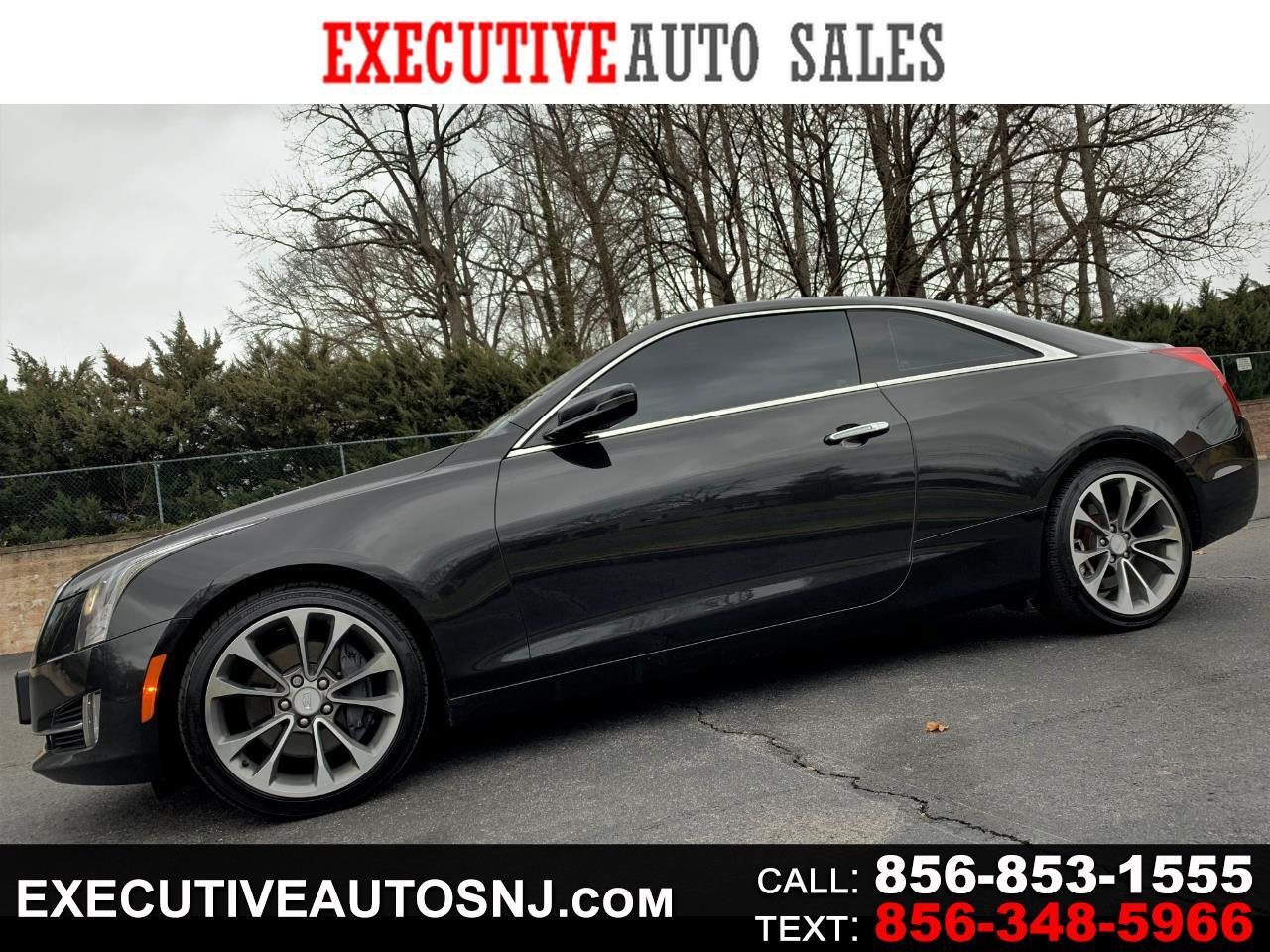 Cadillac ATS Coupe 2.0L Turbo Performance AWD 2015