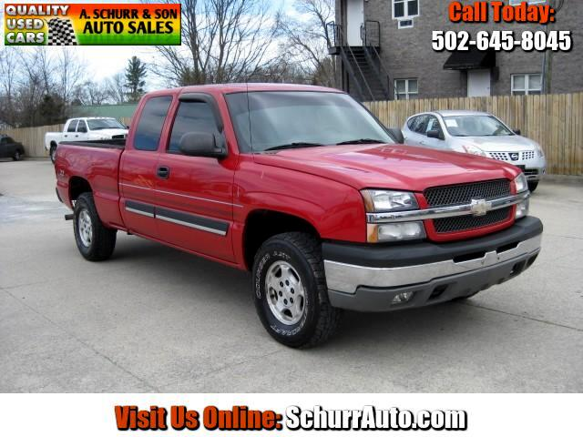 2003 Chevrolet Silverado 1500 LT Ext. Cab 4-Door Short Bed 4WD