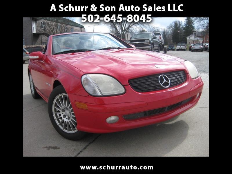 2004 Mercedes-Benz SLK SLK230