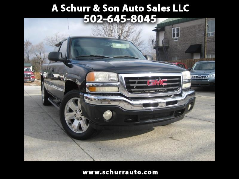 GMC Sierra 1500 SLE2 Ext. Cab Short Bed 4WD 2006