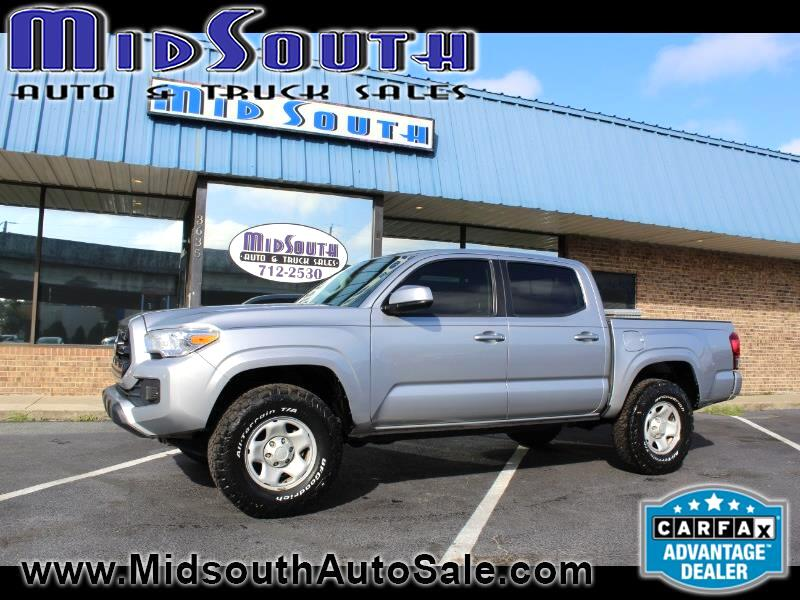 Toyota Tacoma SR5 Double Cab Long Bed I4 6AT 2WD 2016
