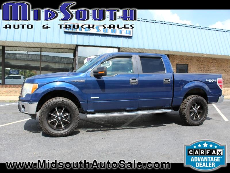 Ford F-150 XLT SuperCrew 5.5-ft. Bed 4WD 2011
