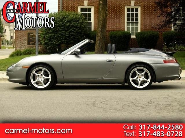 2002 Porsche 911 Carrera 2dr Carrera Cabriolet 6-Spd Manual
