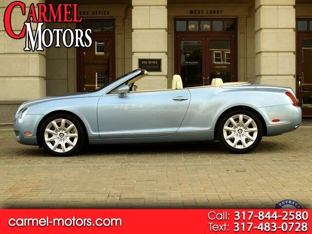 2007 Bentley Continental GT 2dr Conv