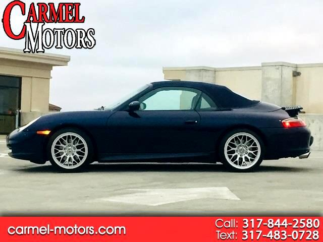 2003 Porsche 911 Carrera 2dr Carrera Cabriolet 6-Spd Manual