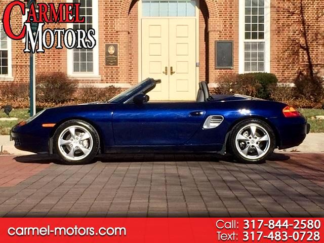 2002 Porsche Boxster 2dr Roadster 5-Spd Manual