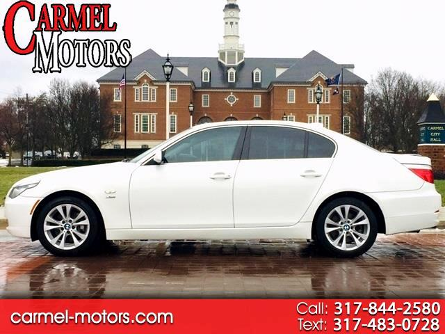 2009 BMW 5 Series 4dr Sdn 535i xDrive AWD