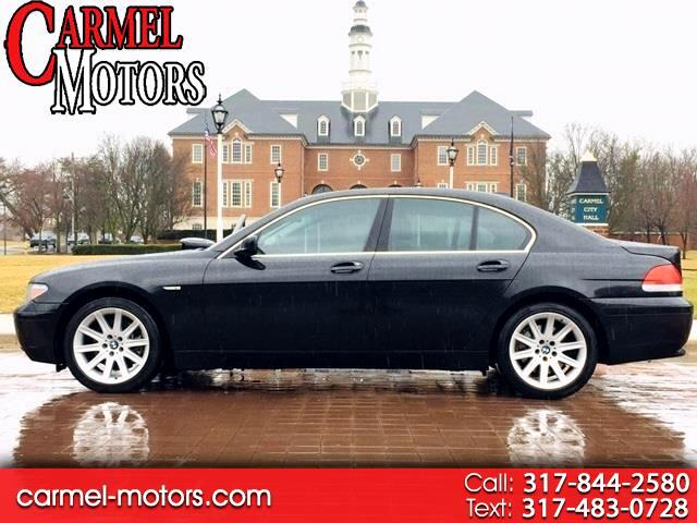 2004 BMW 7 Series 745i 4dr Sdn