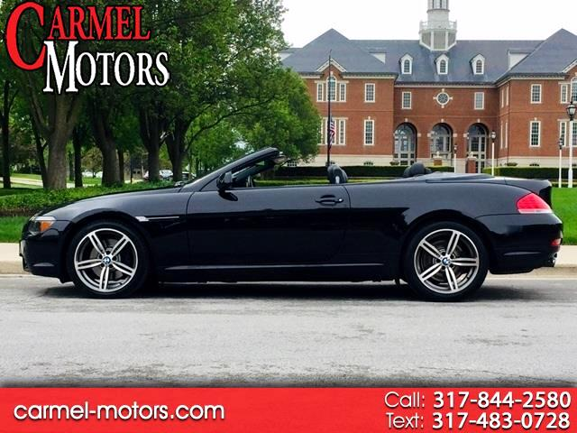 2006 BMW 6 Series 650Ci 2dr Convertible