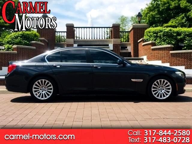 2012 BMW 7 Series 4dr Sdn 750i ActiveHybrid RWD
