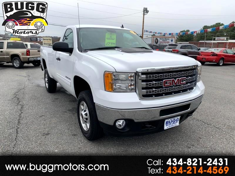 2013 GMC Sierra 2500HD SLE Long Box 2WD