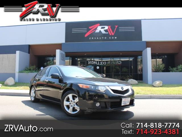 2010 Acura TSX 6-Speed MT withTech Package