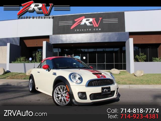 2012 MINI Coupe John Cooper Works