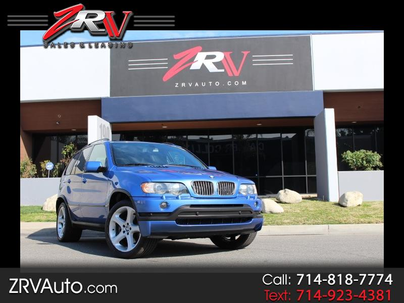 BMW X5 X5 4dr AWD 4.6is 2003