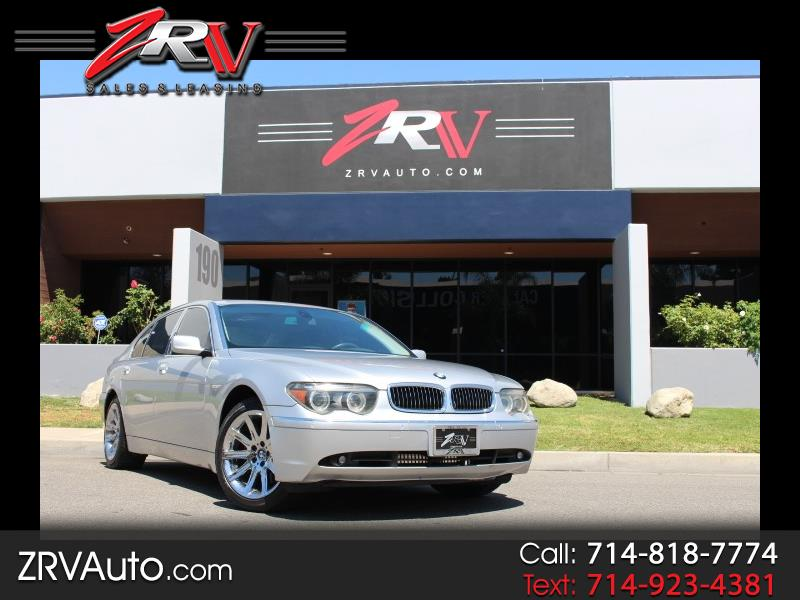 2004 BMW 7-Series 745Li 4dr Sdn