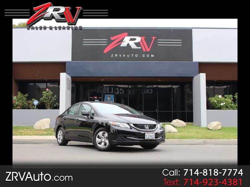 2013 Honda Civic 4dr Sedan LX Auto