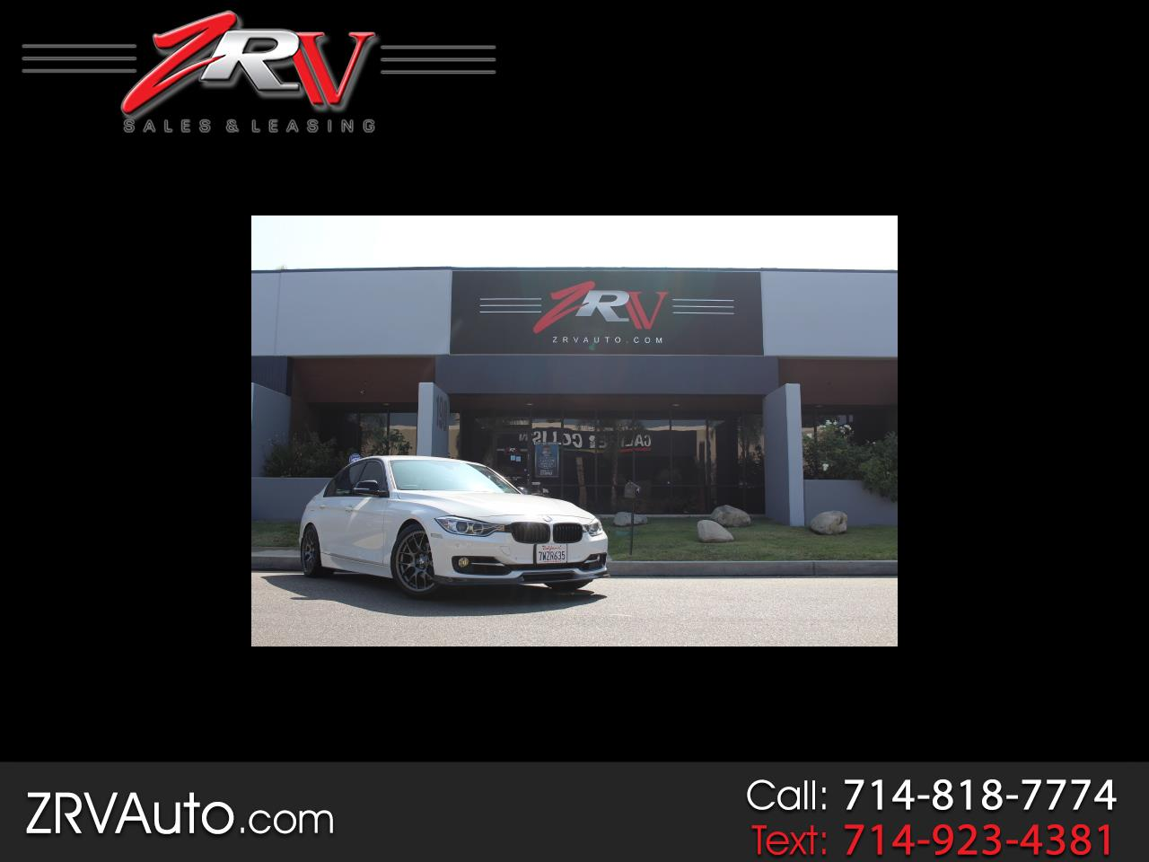 2013 BMW 3 Series 328I SULEV