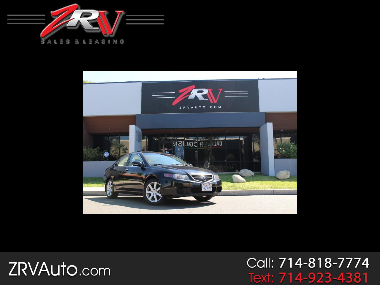 2005 Acura TSX 4dr Sdn AT Navi