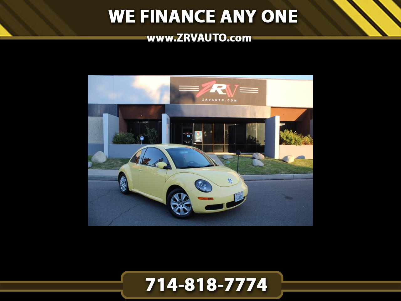 Volkswagen New Beetle Coupe 2dr Auto S PZEV 2008
