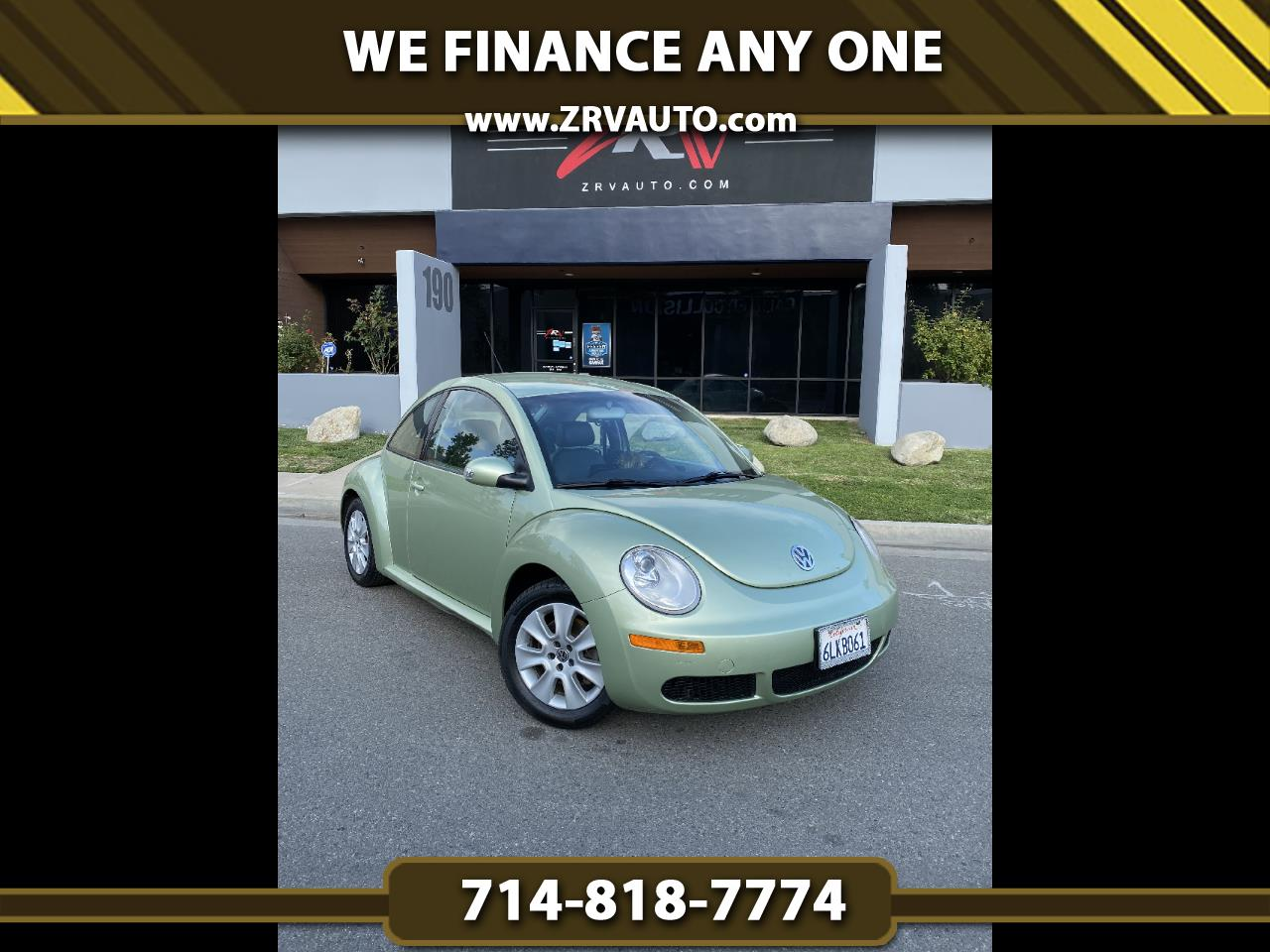 Volkswagen New Beetle Coupe 2dr Man S PZEV 2009