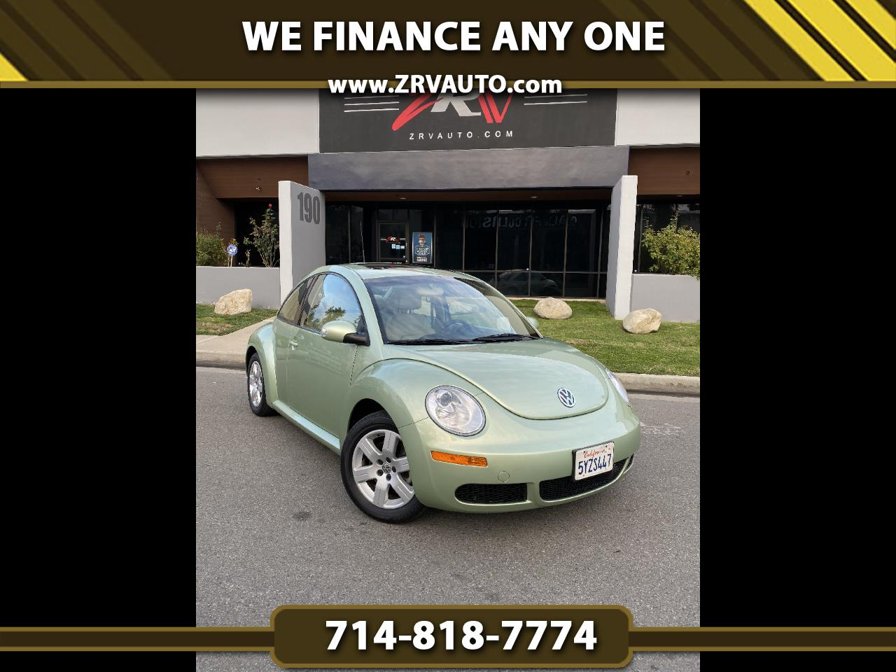 Volkswagen New Beetle Coupe 2dr Auto PZEV 2007