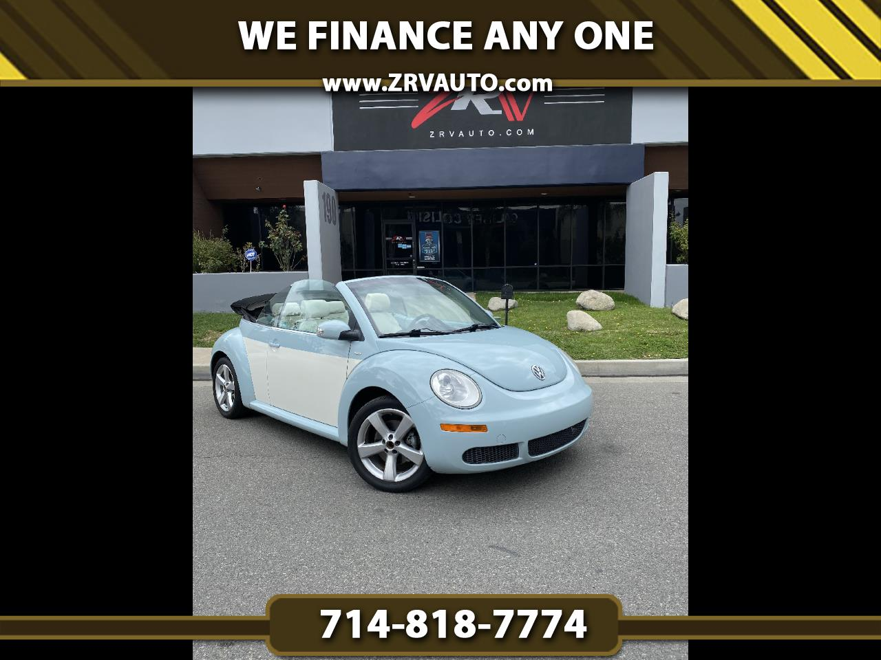 Volkswagen New Beetle Convertible 2dr Auto Final Edition PZEV 2010
