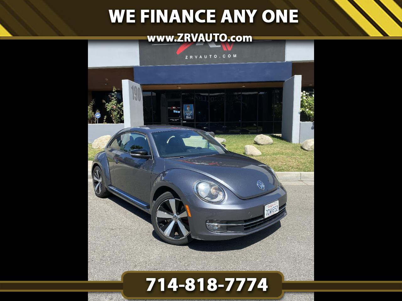 Volkswagen Beetle Coupe 2dr DSG 2.0T Turbo PZEV *Ltd Avail* 2013