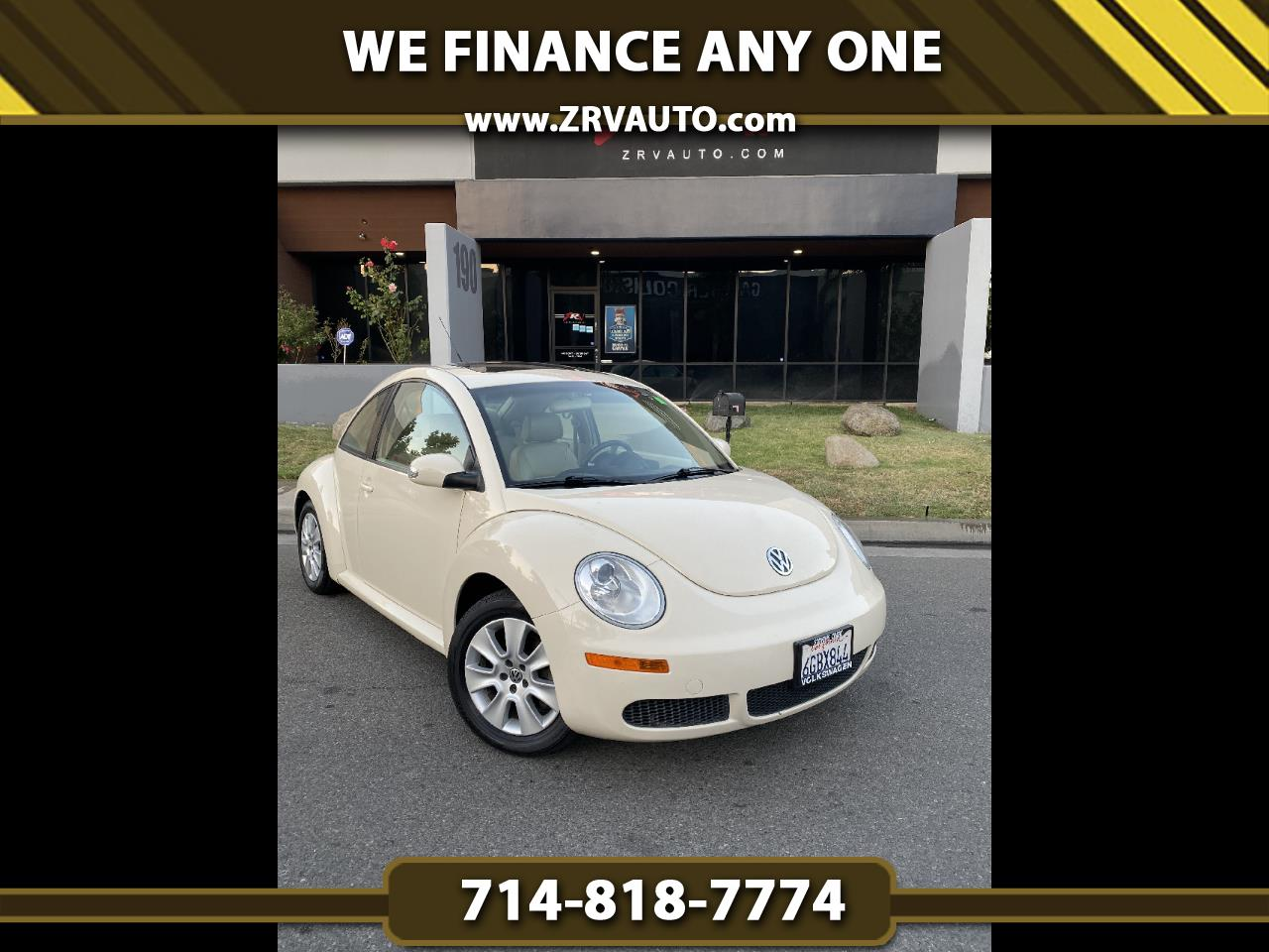Volkswagen New Beetle Coupe 2dr Auto S PZEV 2009