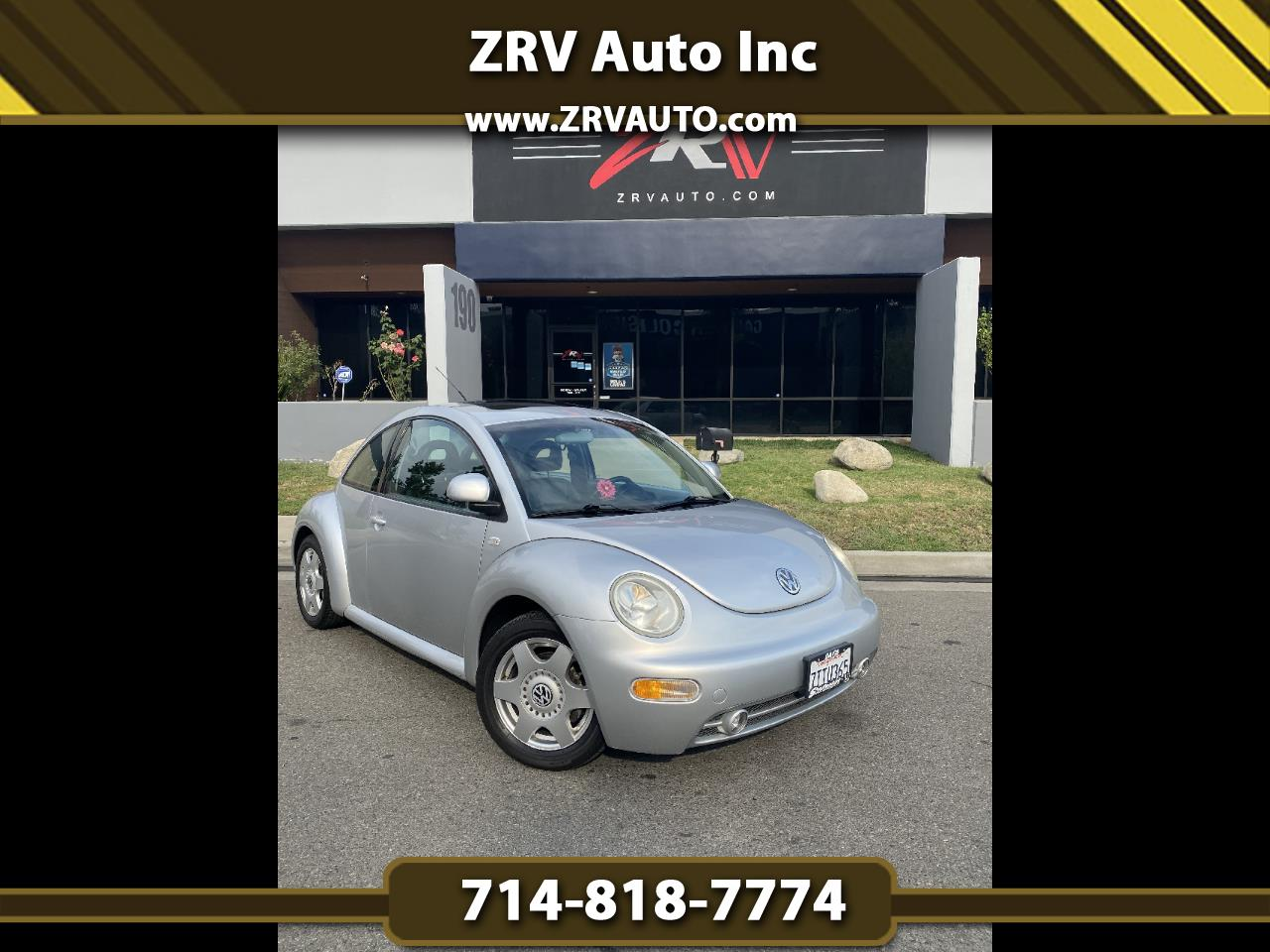 Volkswagen New Beetle 2dr Cpe GLX Turbo Auto 2000