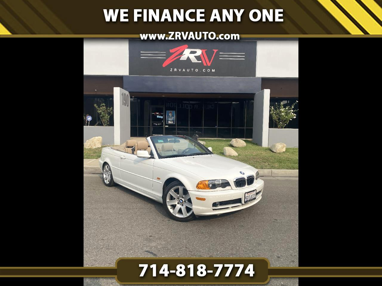 BMW 3 Series 323Ci 2dr Convertible 2000